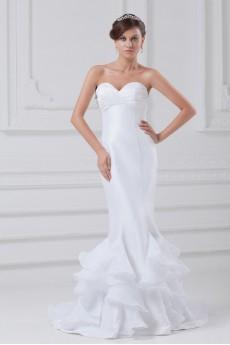 Taffeta Sweetheart Sheath Gown