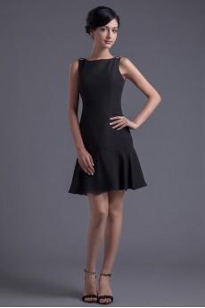 Chiffon Jewel Sheath Dress