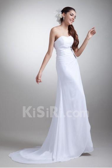 Chiffon Sweetheart Empire Gown