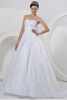 Organza Sweetheart Ball Gown
