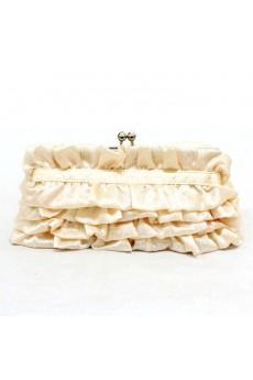 Satin Evening or OL Handbag with Rhinestone