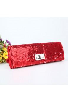Satin Sequins Handbag