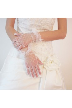 Fingertips Bridal Gloves