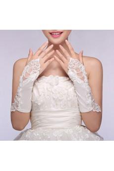Fingerless Elbow Length Bridal Gloves