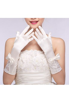 Elbow Length Bridal Wedding Gloves