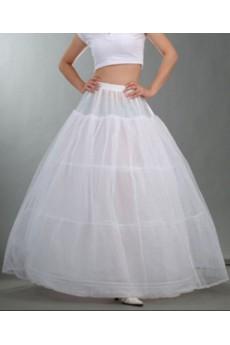 3 Tier Ball Gown Floor Length Bridal Wedding Petticoat