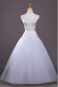 A-Line 2 Tier Floor Length Bridal Wedding Petticoat
