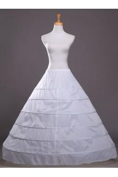 White Floor Length Wedding Bridal Hoop Petticoat Slip