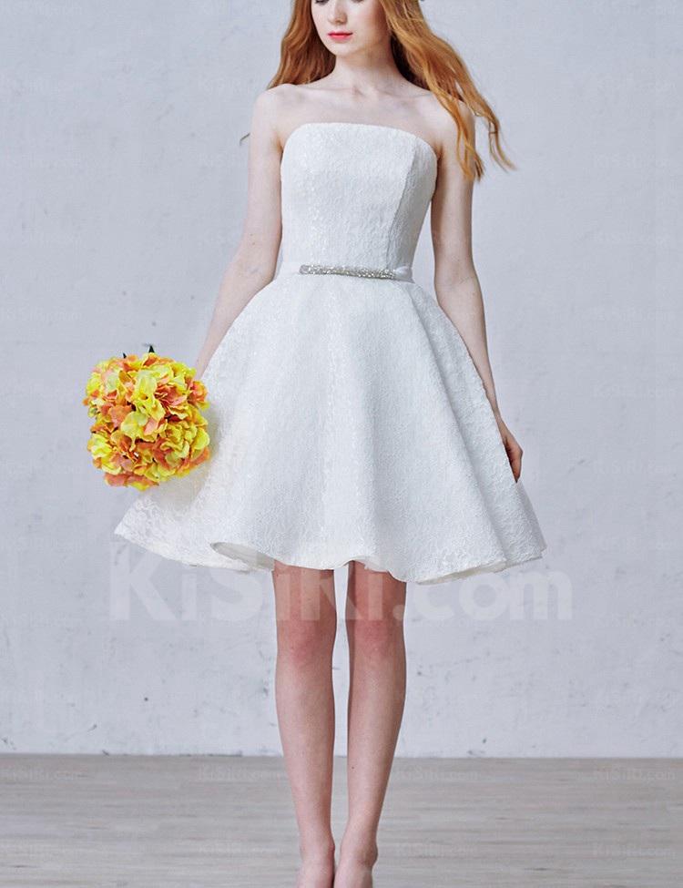 http://www.kisiri.com/24762-51594/lace-tulle-strapless-minishort-sleeveless-ball-gown-dress-with-rhinestone-sash.jpg