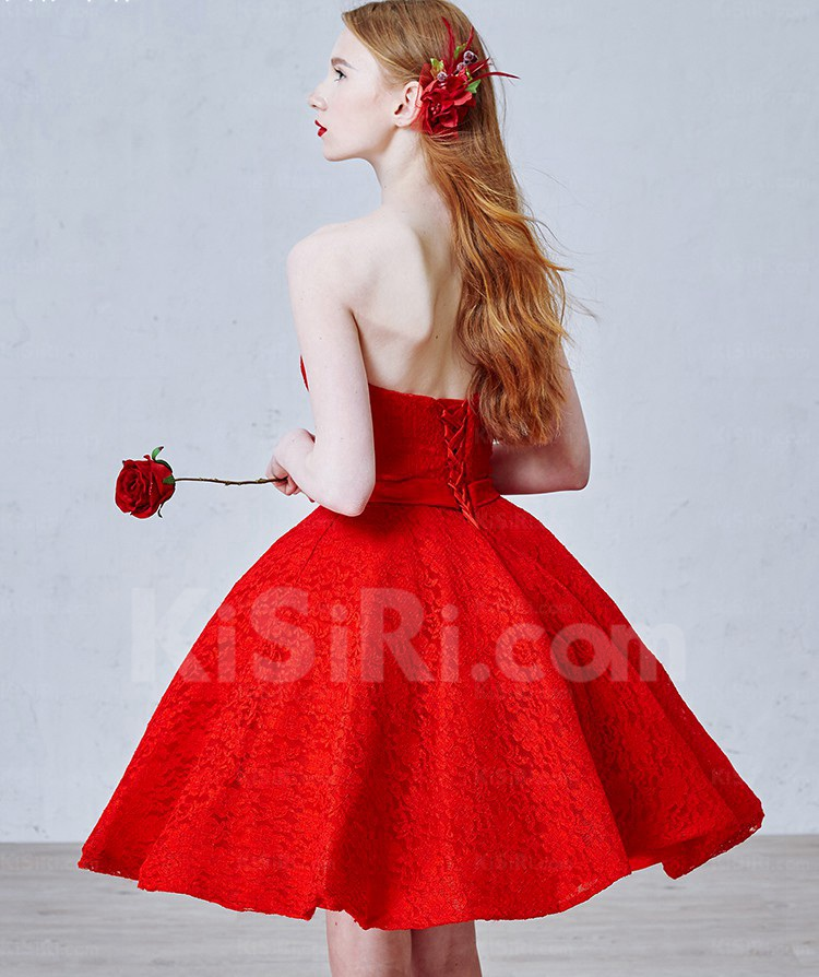 http://www.kisiri.com/24762-51599/lace-tulle-strapless-minishort-sleeveless-ball-gown-dress-with-rhinestone-sash.jpg