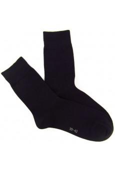 Black Men's Combed Cotton Socks