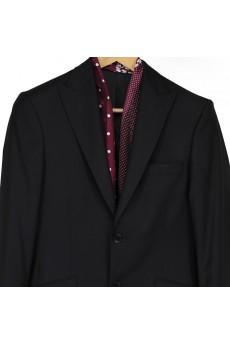 Men's Red Silk Cravat