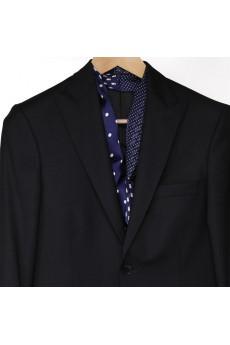 Men's Blue Silk Cravat