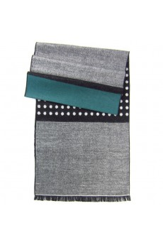 Men's Gray Cotton Scarf