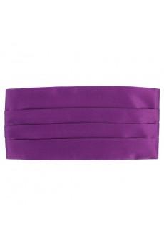 Men's Purple Microfiber Waistband