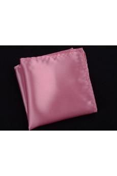 Pink Microfiber Pocket Square