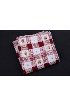 Pink Cotton, Linen Pocket Square
