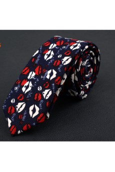 Blue Floral Silk Novelty Tie