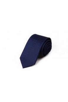 Blue Polka Dot Microfiber NeckTie