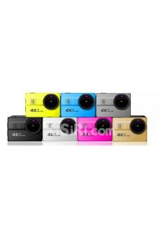 "4K WiFi 2.0"" 173 degree 25 mm Lens Sports Camera"